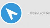 Обзор браузера Javelin Browser для Android